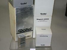 ROLLEI ROLLEIFLEX EMPTY BOXES LEERVERPACKUNGEN SL66  6000 SERIE  /15