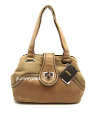 Mimco Faraway Leather Day Bag in Light Camel
