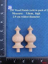 COPPIA di orologio/mobili ornamenti Stile (29 F)