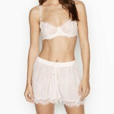 New With Tags Lightweight Victorias Secret Pyjama Shorts Coconut White Small