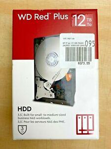 "WD Red Plus 12TB HDD 3.5"" SATA Internal Hard Drive - NAS Compatible - FREE SHIP"