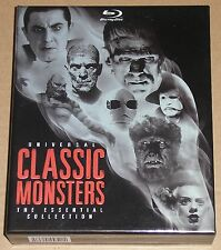Universal Classic Monsters The Essential Collection USED Horror Box Set 8-Disc