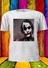 The Joker Heath Ledger Swag Hipster T-shirt Vest Tank Top Men Women Unisex 2052
