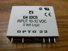 Opto 22 G4 Idc5 Input Module 10-32 Vdc 5 Volt Logic
