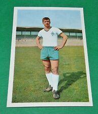 SEPP PIONTEK WERDER BREMEN FUSSBALL 1966 1967 FOOTBALL CARD BUNDESLIGA PANINI