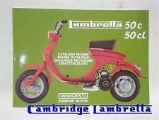 Lambretta Parts Book - Lui 50cc (1FA119)