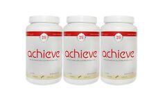 3 Bottle Zrii Achieve Mix Soy Protein Powder Shake ( French Vanilla )