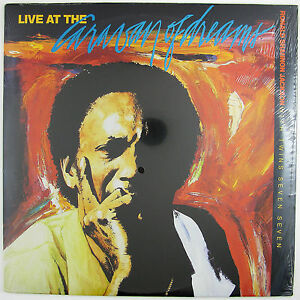 RONALD SHANNON JACKSON & DECODING SOCIETY Live At The Caravan.. LP 1986 (SEALED)