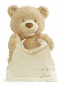 NEW GUND Peek a Boo My First Teddy Bear Stuffed Plush Soft Toy Baby Shower Gift!