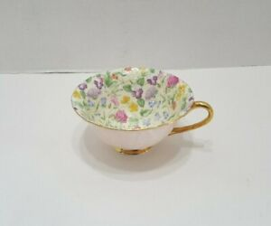 Vintage Shelley Chintz Pink Oleander Tea Cup