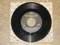 THE BEATLES W /TONY SHERIDAN WHY CRY FOR A SHADOW RARE 45RPM MGM1964 ORIGINAL