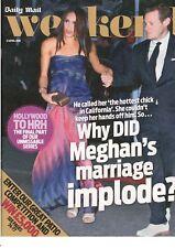 Diario Mail: meghan's anteriores matrimonio,Lily James ,Hollywood a HRH