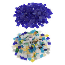 500pcs Multicolor Glass Mosaic Tiles Pieces Diy Home Decor Mosaic Supplies