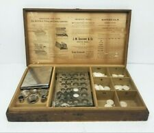Antique KONSEAL FILLING & CLOSING KIT Apothecary Capsule Sealing & Embossing Rx