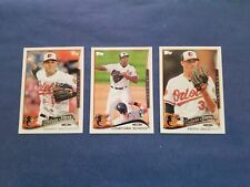 BALTIMORE ORIOLES FUTURE STARS 2014 TOPPS CARD (3-CARD ROOKIE LOT) MACHADO