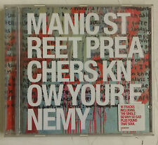 Manic Street Preachers Know Your Enemy Cd Europa 2001