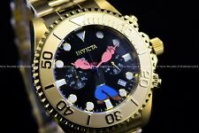 Invicta Men 47mm Limited Edition Grand Diver POPEYE Gold Plated Chrono SS Watch