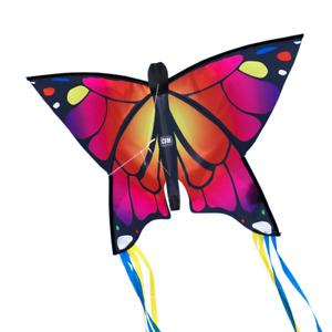 CIM Kinder-Drachen Butterfly Pink Flugdrachen drachenfliegen inkl. Drachenschnur