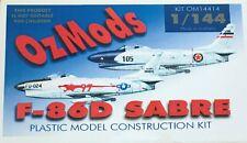 1/144 Cold War Fighter : NAA F-86D Sabre [USAF & Yugo.] : OZMODS