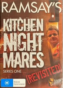 Ramsay's Kitchen Nightmares - Revisited! : Series 1 (DVD, 2008) BRAND NEW