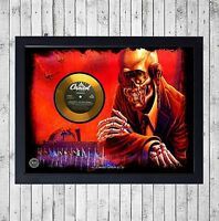 MEGADETH PEACE SELLS CUADRO CON GOLD O PLATINUM CD EDICION LIMITADA. FRAMED