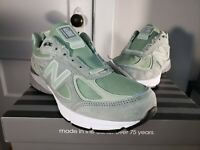New Balance 990v4 Running Shoes Mint Green Mens M990SM4 Made In USA