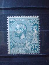 MONACO 1891 Nr 16 25 Cts. VERT/GREEN MH* COT. 350 EUR