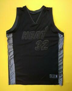 Shaquille O` Neal Heat de Miami Basketball Jersey XL Champion ig93