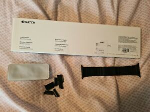 Apple 44mm Link Bracelet Band - Space Black