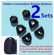 2 Sets Key Remote Buttons Holden Commodore key Buttons VS VZ WH WK WL VT VX VY