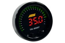 AEM X-Series Tru-Boost Electronic Boost Controller Gauge -29 to 80 psi 30-0352