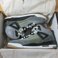 NIB RARE🔥 JORDAN SPIZIKE STEALTH BLACK WHITE GREY GRAPHITE MEN 9.5 315371-091