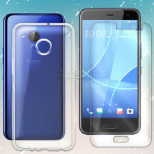 Premium Shockproof HD Screen Protector Dustproof Clear Case f HTC U11 life Phone