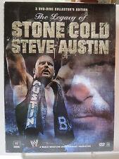WWE - The Legacy of Stone Cold Steve Austin (DVD, 3-Disc Set)