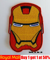 Iron Man Avengers logo Patch Iron on Sew on Patch Marvel Comics  IronMan