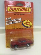 Matchbox 1987 Macau Base Ford T-Bird Turbo Coupe MB59 Sealed Mint On Card MOC