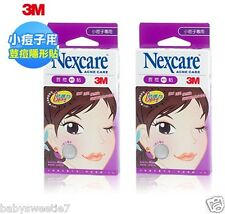 3M Nexcare Acne Dressing Pimple Care Patch Stickers 40 pcs (2 Packs)