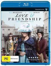 Love And Friendship (Blu-ray, 2016) (Region B) Aussie Release