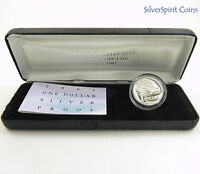1993 $1 LANDCARE COIN FAIR Silver Proof Coin