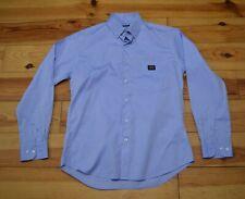 PAUL SHARK  MEN'S BLUE LONG SHIRT VGC SIZE 41  L