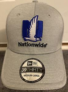 Nascar Dale Earnhardt Jr New Era Nationwide Insurance Men's M/L Fitted Hat Gray