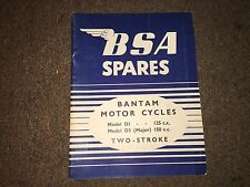 BSA Spares, Bantam, D1, D3, 125cc, 150cc, Two-Stroke,  269