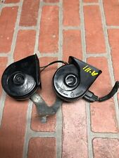 2013-2016 FORD FUSION LOW & HIGH TONE NOTE ALARM SIGNAL HORN W/ BRACKET SET OEM