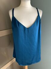 marks and spencer Teal Camilsole Top Size 12