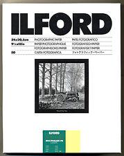 Carta fotografica bianco e nero Ilford 24x30 Multigrade FB baritata matt 50fogli