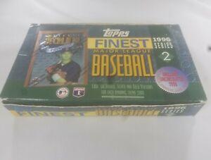1996 Topps Finest Baseball Series 2 Hobby Box