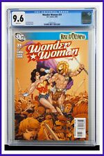 Wonder Woman #31 CGC Graded 9.6 DC June 2009 White Pages Comic Book.