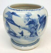 Blue and White Porcelain Jar Vase Hand Pianted