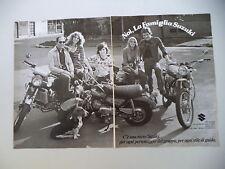 advertising Pubblicità 1975 MOTO SUZUKI RV 90