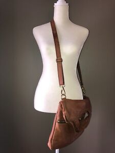 Brown Leather Fossil Purse Crossbody